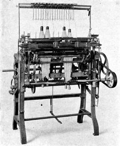 Paget Frame with two needle rows, Hilscher, Chemnitz, app. 1870.