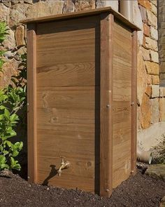Rain Collection – Rain Barrels That Perform with Style – Bob Vila….i was just saying how ugly rain barrels are