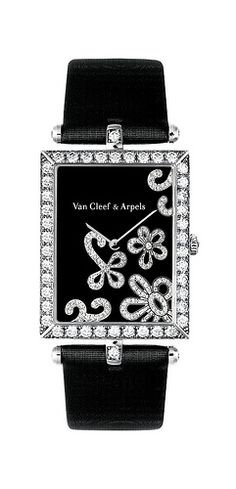 Van Cleef & Arpels Lady Arpels Dentelle watch