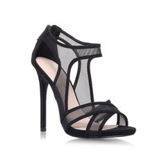 KG Haze high heeled strappy sandals, Black