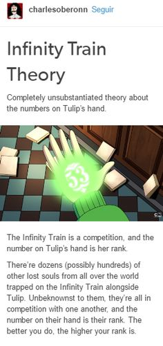 Infinity Train Theory <<<< Okay guys. If you haven't seen 'Infinity Train' yet you should. Its really good, and its on YT.