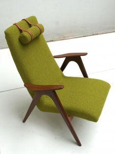Dutch Teak Easy Chair by Louis van Teeffelen for WeBe, 1960s - Products