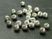 Sterling Silver Corrugated Bead ~ Pack of 10 Arts And Crafts, Diy Crafts, Metal Beads, Jewelry Making Supplies, Stud Earrings, Gemstones, Sterling Silver, Tube, Gold
