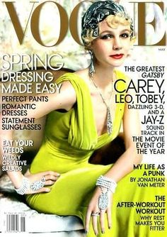 Carey Mulligan: US VOGUE MAY 2013