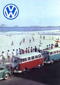 1104 - VOLKSWAGEN - Kombi - Futebol de Praia - 29x41-