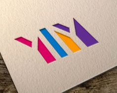 Ylly - negative space logo for advertising company.simple in shape, yet expressive in color Negative Space Logos, Minimal Logo, Advertising, Company Logo, Shapes, Simple, Color, Colour, Colors