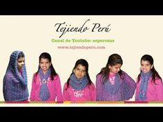 ▶ Bufanda mágica (magic scarf) o multiusos en aguja circular (Parte 1) - YouTubeparte 2 http://www.youtube.com/watch?v=fvjrioXfB_M