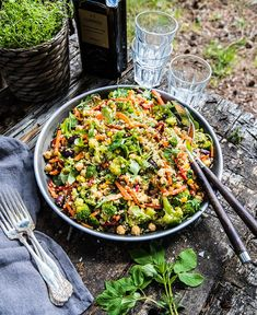 Veggie Recipes, Veggie Food, Paella, Nom Nom, Veggies, Food And Drink, Gluten Free, Lunch, Dinner