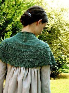 Ravelry: Lizzie Bennet's Shawlette pattern by Annie Riley Arm Knitting, Knitting Needles, Shawl Patterns, Knitting Patterns, Crochet Patterns, Ravelry, Jane Austen, Herringbone Stitch, Knitted Shawls