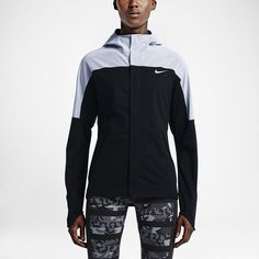 WOAH! This jacket is no joke - especially in the dark. Check it out - you literally can't miss it. (Nike Shieldrunner Flash)