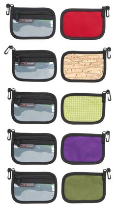 Clear Front Organizer Wallet