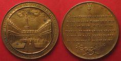 1613 Niederlande NETHERLANDS AMSTERDAM STOCK EXCHANGE 1613 Medal silver gold plated UNC # 89315 UNC Coin Collecting, Netherlands, Amsterdam, Bronze, Personalized Items, Silver, Gold, Holland, The Netherlands