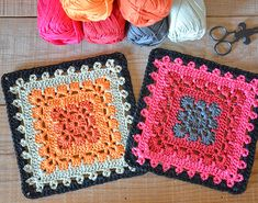 Boho Square – A Granny square pattern                                                                                                                                                                                 More                                                                                                                                                                                 More