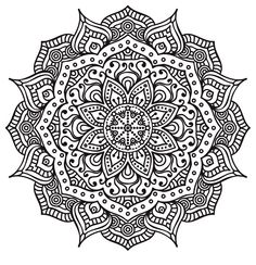 Lecture d'un message - mail orange coloriage mandala, dessin coloriage Mandala Art, Mandalas Painting, Mandalas Drawing, Mandala Coloring Pages, Mandala Pattern, Zentangle Patterns, Coloring Book Pages, Printable Coloring Pages, Zentangles