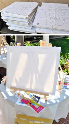 How to Host your own Wine Painting Party