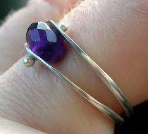 Dual Band Bead Ring   AllFreeJewelryMaking.com