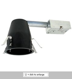 """4"""" Remodel Housing for GU10 Base MR16    Height : 5 1/2"""", Opening: 4 1/4""""   Lamp: 50W MAX. 120V GU10 base MR16 lamp   Remodel housing with thermal protector.   UL listed for damp locations.   A= ASTM Airtight Fixture    Only works with 4"""" LOW voltage trims"""