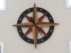 Compass Rose Wall Clock - by Gary @ LumberJocks.com ~ woodworking community