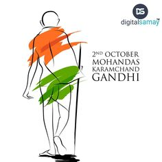 """You must be the CHANGE you wish to see in the WORLD""""  Happy Gandhi Jayanti...  #Digitalsamay #Mahatmagandhi #Gandhijayanti #Panipat #Digitalmarketingagency #Digitalmarketing #ITcompany"""