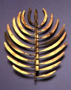"""harry bertoia pin, 1942 // a great example of """"modernism"""" jewelry from the 40's // great piece #jewelry #design"""