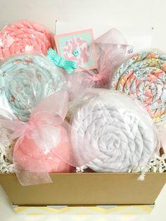Easter Basket New Baby Gift Basket  Sweet by PoshPresentations