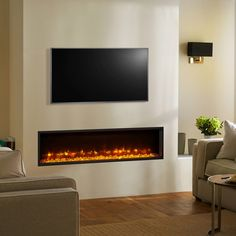 Gazco Fires, Radiance 135R Inset Electric Fire with Remote Control