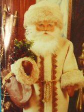 1991 Vogue Victorian Father Christmas Santa Claus Doll Pattern Uncut FF 8126
