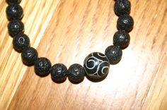 Lava Bead Bracelet by DharmaJewelry on Etsy, $18.00