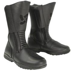 Xelement Women's Advanced Dual Strap Leather Boots With Vibram Soles 10