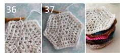 Crochet hexagon tutorial