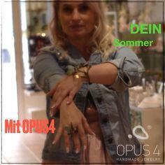 DEIN Sommer mit OPUS4 - Aufregend anderes Schmuckdesign, wie für Dich gemacht. Besondere Schmuckideen, einfach schöner Modeschmuck für diesen Sommer jetzt in der Galerie 10er-Haus und im 10er-Haus Onlineshop finden. - - #schmuckdesign #modernerschmuck #halsschmuck #ohrschmuck #ohrringe #ring #halskette #armschmuck #armspange #opus4 Ring Necklace, Unique Bags, Online Deals, Jewellery Designs, Fashion Jewelry, Summer, Simple, Nice Asses