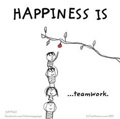 Happiness is                                                       …