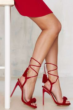 Privileged Miami Fringe Heel - Shoes | Open Toe
