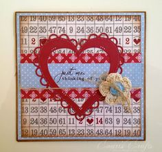 Court's Crafts: Scalloped Heart Valentine, I have this die...yay!