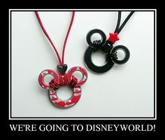 A Creative Princess: Mickey Mouse Washer Necklace  http://acreativeprincess.blogspot.com/2012/04/mickey-mouse-washer-necklace.html