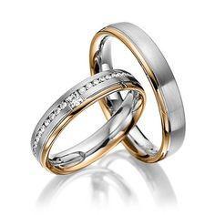 Купить Обручальные кольца Fashion 63-107 NEW - золотой, обручальные кольца…