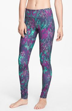 Zella 'Live In - Ikat' Leggings available at #Nordstrom