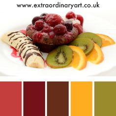 10 colour palettes inspired by desserts
