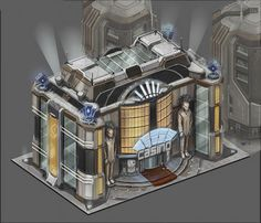77 best sci fi building images on pinterest futuristic for Anno 2070 find architect