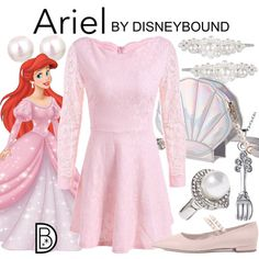 DisneyBound is meant to be inspiration for you to pull together your own outfits which work for your body and wallet whether from your closet or local mall. As to Disney artwork/properties: ©Disney Princess Inspired Outfits, Disney Princess Outfits, Disney Themed Outfits, Disney Inspired Fashion, Character Inspired Outfits, Disney Bound Outfits, Disney Dresses, Disney Clothes, Disney Fashion