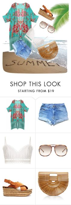 """Summer Vacation"" by maha-shayea on Polyvore featuring Zimmermann, Chloé and Cult Gaia"