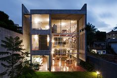 I've planned in my head where I'm going to put all my things in this house; House In Sao Paulo / GrupoSP, via archdaily.com