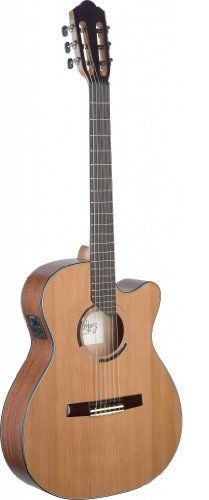 Angel Lopez ERE HYB-CFI S Hybrid Neck Electro-Acoustic Classical Guitar >>> Check out this great product.