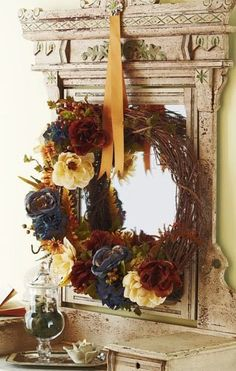 Great wreath for fall