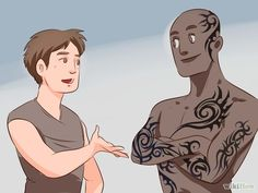 How to Become a Tattoo Artist - Image titled Become a Tattoo Artist Step 4 - Body Art Tattoos, Tatoos, Becoming A Tattoo Artist, Image Title, Drawing Skills, Body Modifications, Quote Aesthetic, Body Mods, Tattoo Artists