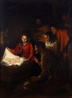 Adoration of the Shepherds Bartolome Esteban Murillo