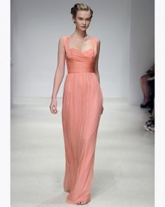 "See+the+""Long+Peach+Bridesmaid+Dress""+in+our++gallery"