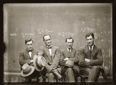 Mugshots from the 1920s And Their Crimes...Why Do I Find This So Interesting? - Guilty of illegal gambling.
