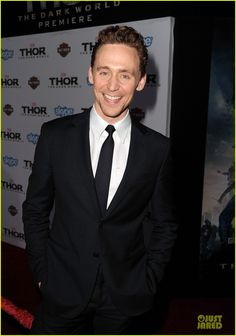 thor 2 hollywood prem   Tom Hiddleston & Kat Dennings: 'Thor' Hollywood Premiere!   Anthony ...