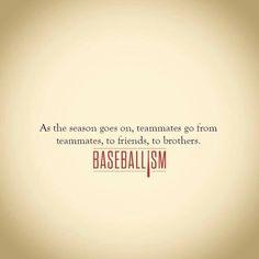 Yep, this is definitely true with my Braves boys:)